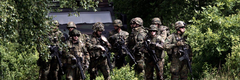 Reservisten beim Tag der Bundeswehr in Hohn