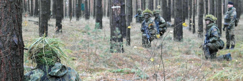 Reservisten auf der Jägerbahn