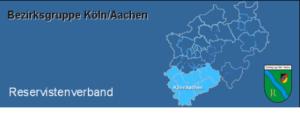 Bild Reservistenverband Karte Land NRW - Bezirk Köln/Aacehn