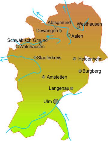 Ostalbkreis Karte.Ostwürttemberg Alb Donau Reservistenverband