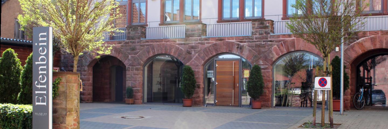 Das Elfenbeinmuseum in Walldürn, das in unmittelbarer Nähe zur Basilika untergebracht ist.