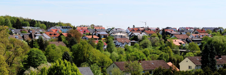 """Das Baugebiet """"Auf der Heide""""."""
