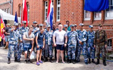 Mannschaften des Maritimen Wettkampfes 2018