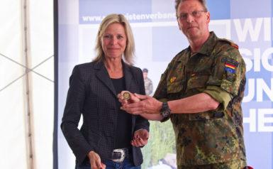 Elke Christina Roeder und Udo Wachholz 2018 Feldempfang Kieler Woche