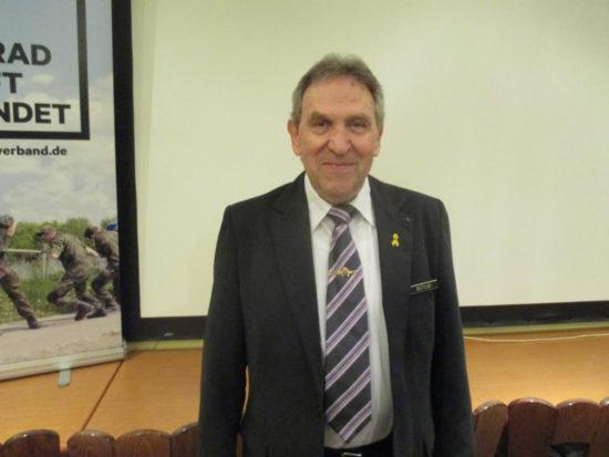 Neu gewählter Kreisvorsitzender Helmut Butlar