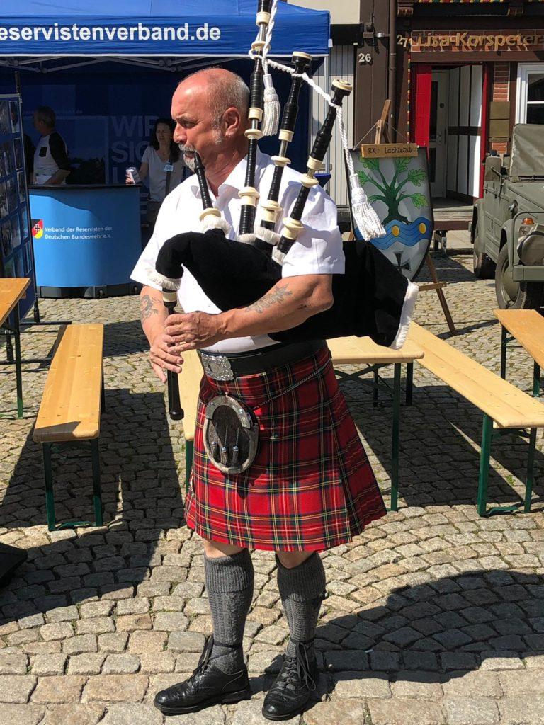 Pipe Major Ronnie Bromhead/ Tag der Bundeswehr 2019