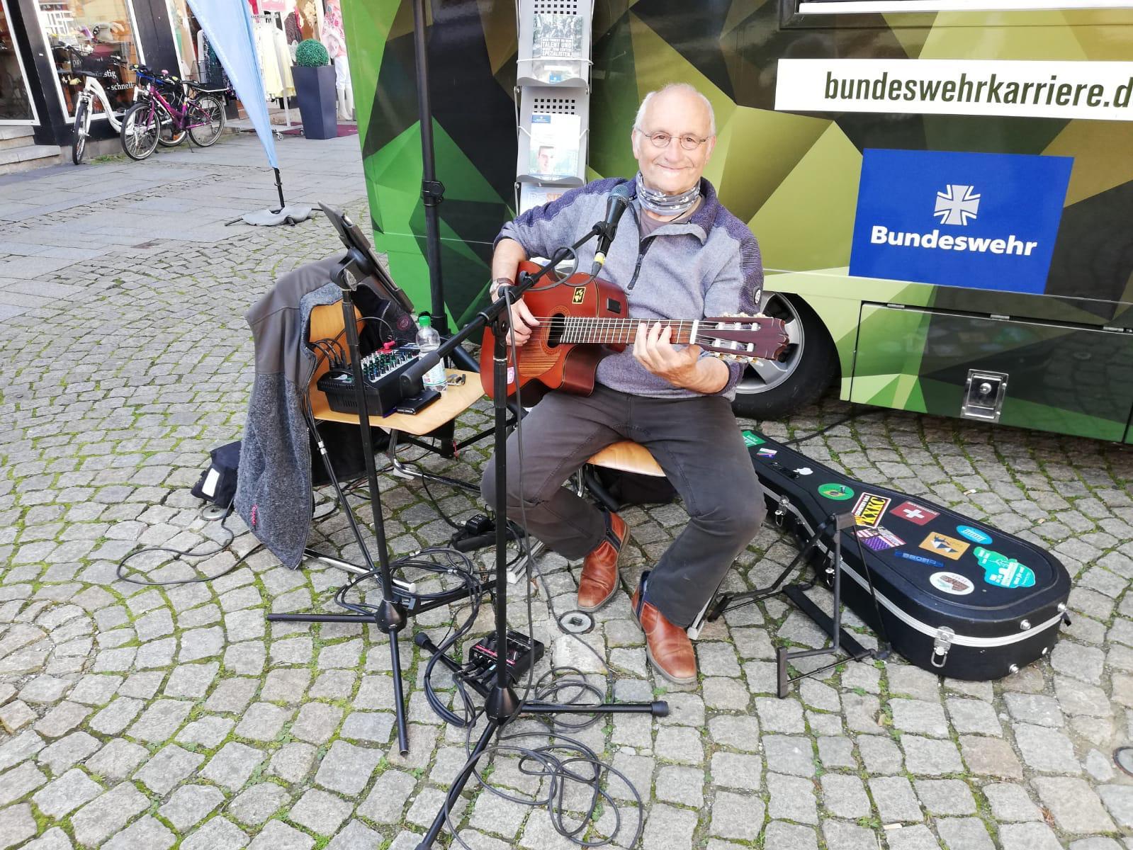 Sänger und Songwriter Harald Duprée