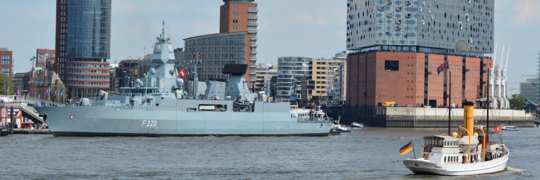 Fregatte Hamburg in Hamburg