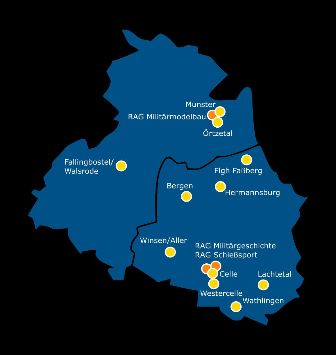 Karte Kreisgruppe Celle