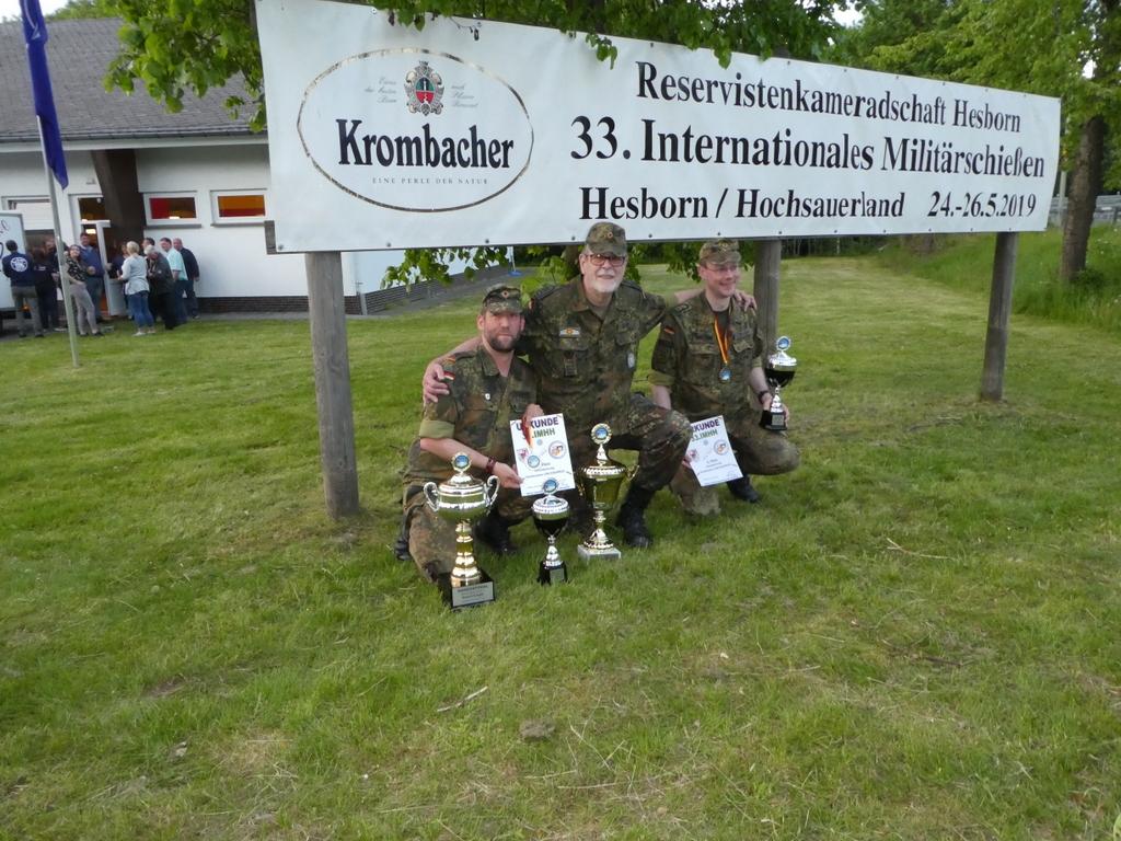 Sieger von links nach Rechts: HG d.R. Uwe Schwarz, SF d.R. Torsten Bahr, SU d.R. Jürgen Ditthardt fehlend: OF d.R. Jürgen Minkus