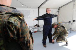Maritimer Heimatschutz: Reservisten sichern Marinestützpunkt